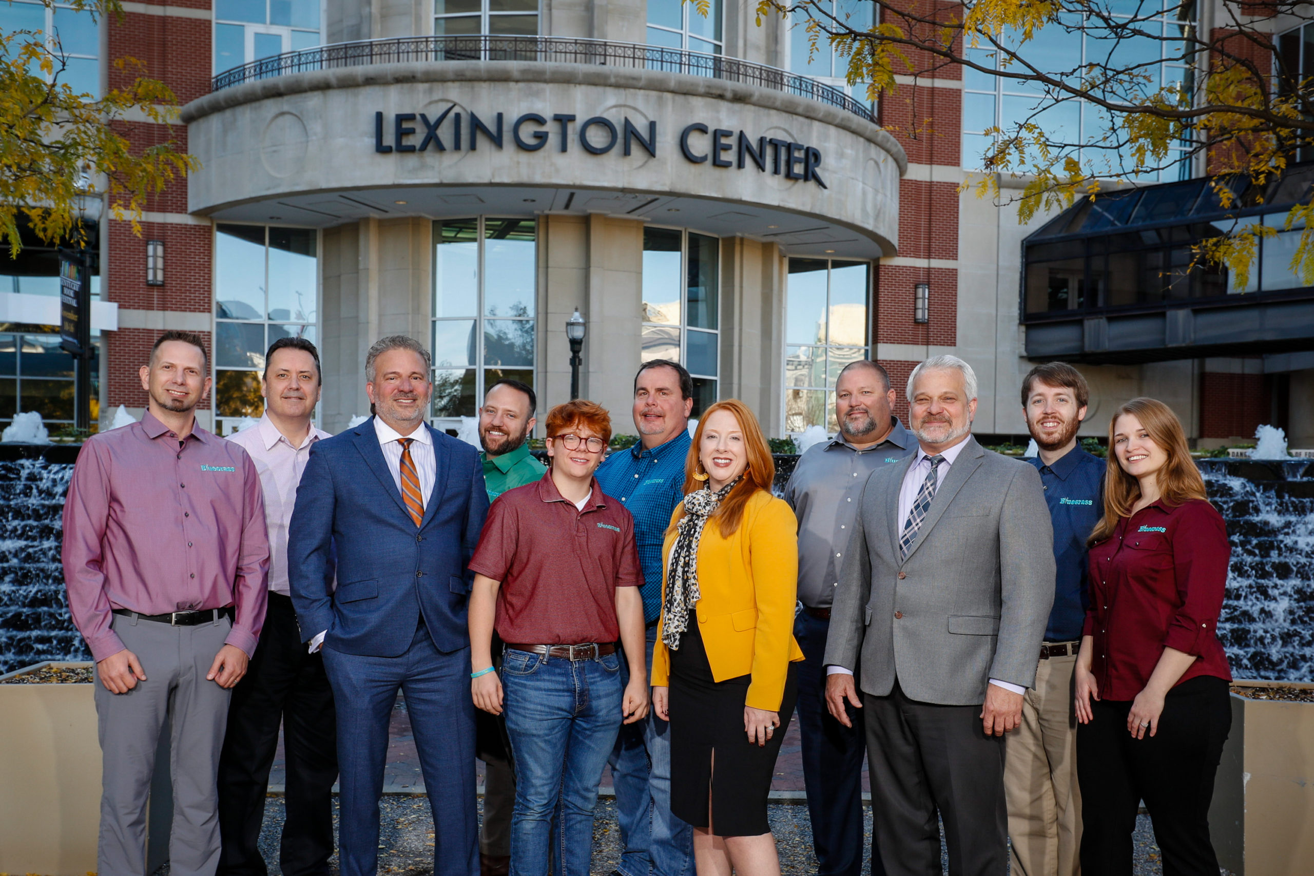 Bluegrass Educational Techonologies, LLC at Triangle park, Monday Oct. 28, 2019  in Lexington, Ky. Photo by Mark Mahan